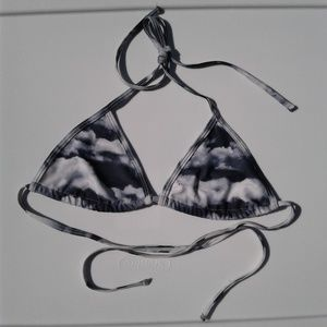 245a436413d68 American Apparel Swim - NEW AA Swim Cloud Print Triangle Bikini Top